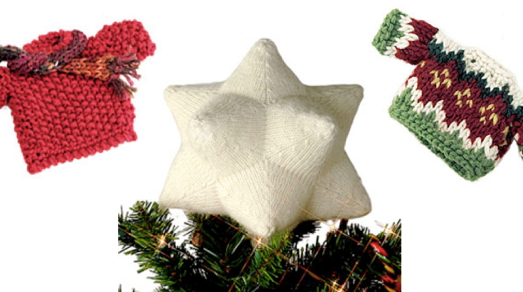 Norah S Knits Knitted Christmas Ornaments Knitting And Crochet