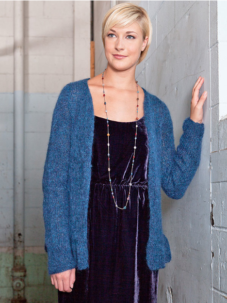 Free Knitting Patterns Ladies Cardigans : KnitBits Preview: A Fine Italian Yarn berroco design studio