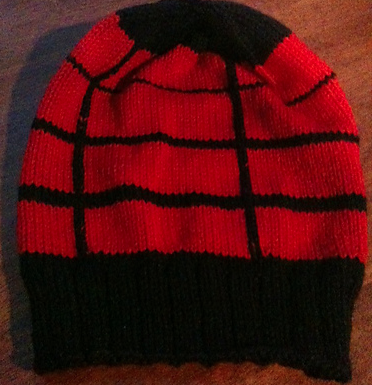 Spider-Man Hat by Benthyrdeedersknit in Vintage