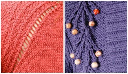 Twist Stitch Examples