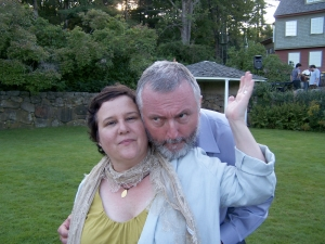 Norah and her husband, John.