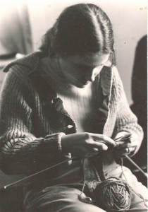 Norah sold her first knitting design at age 17.