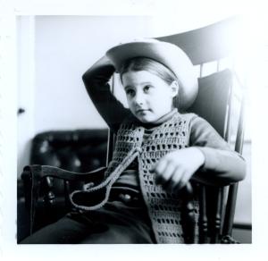 Norah at age 9.