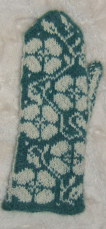 Rose Mittens