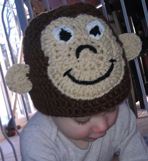 I crocheted this hat for my nephew using Berroco Comfort Chunky. Maybe I should make a matching scarf?