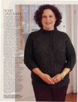 An article about Norah in Vogue Knitting.