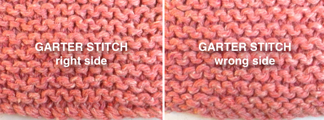 Knitting Stitches Same On Both Sides : Ask Amanda: Which side of my knitting is the right side?