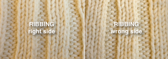 Ask Amanda: Which side of my knitting is the right side?