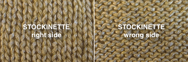 How Many Stitches Per Minute Knitting : Ask Amanda: Which side of my knitting is the right side?