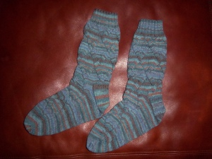 Husband Socks 2013.2 by bettesocknitter