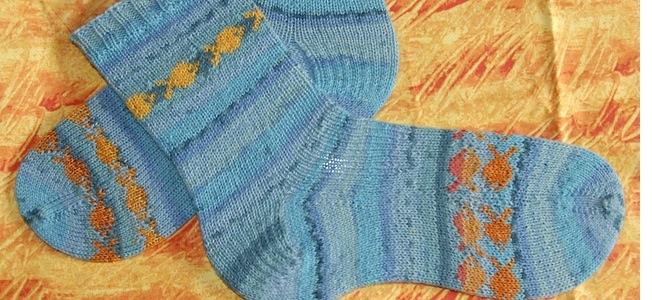 handknit socks ks