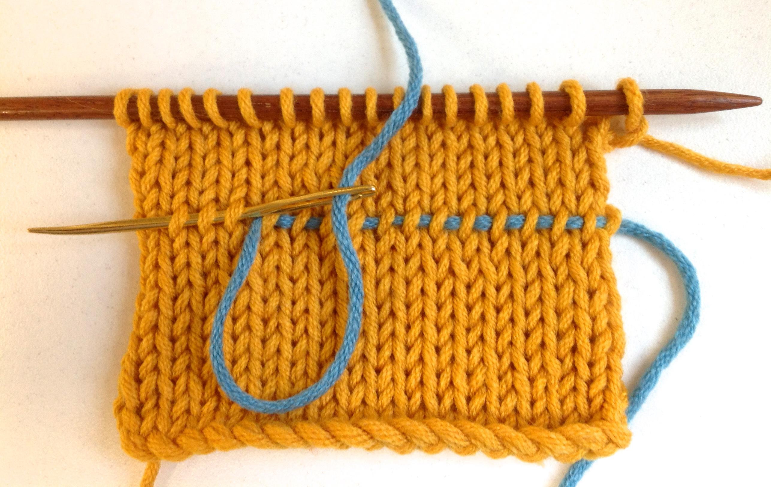 Knitting Lifeline Hole : Ask amanda how do i rip out my knitting and