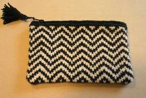 Zip-N-Zag Bag by Kim McClellan