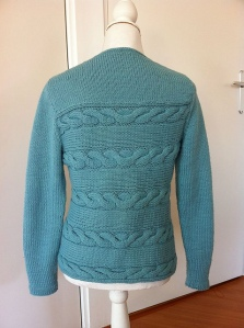Sunburst Cable Cardigan by Erica Patberg