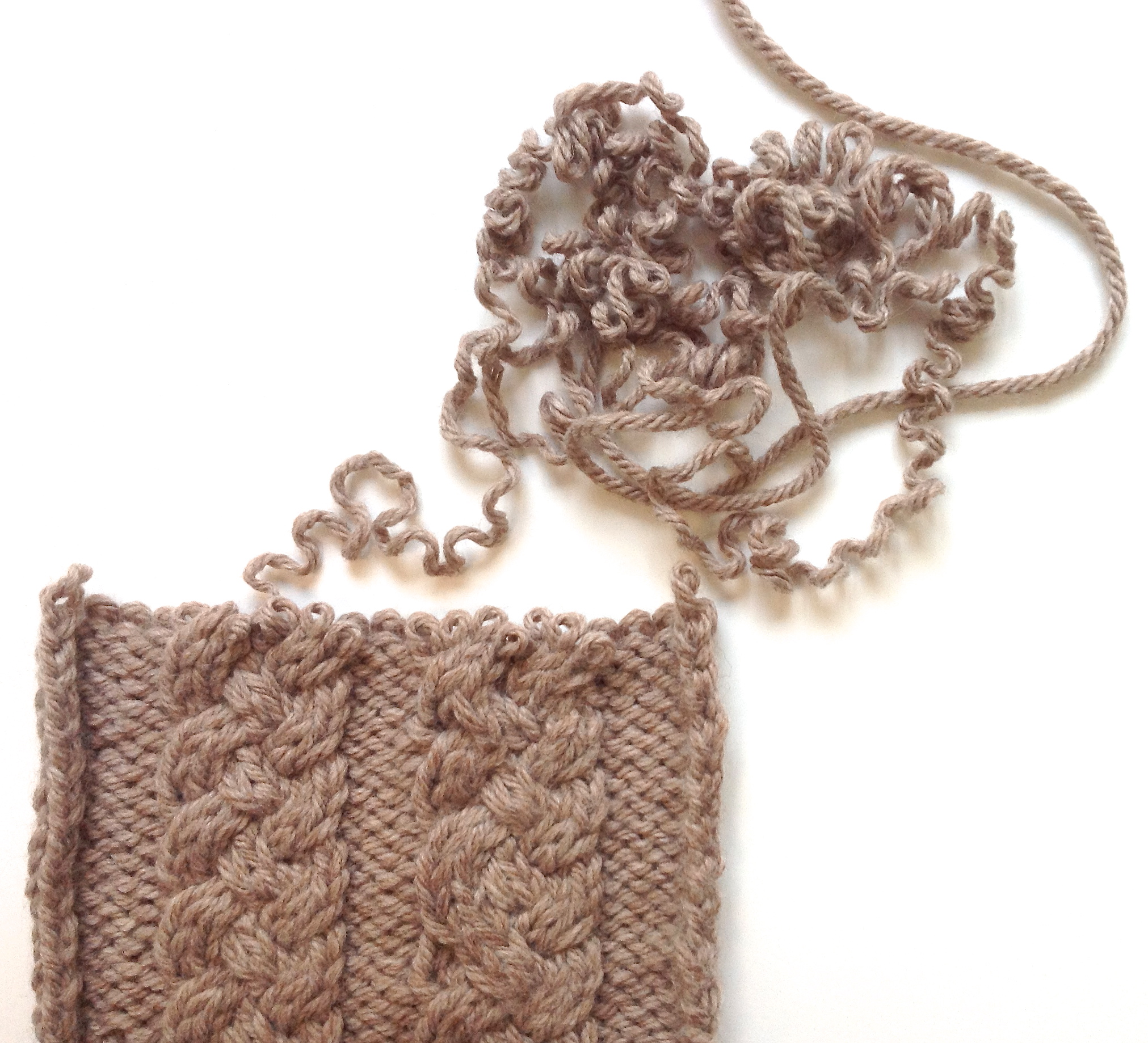 How To Unravel Knitting Stitches : Emily Explains: What if I have to unravel my knitting again? Is this okay? ...