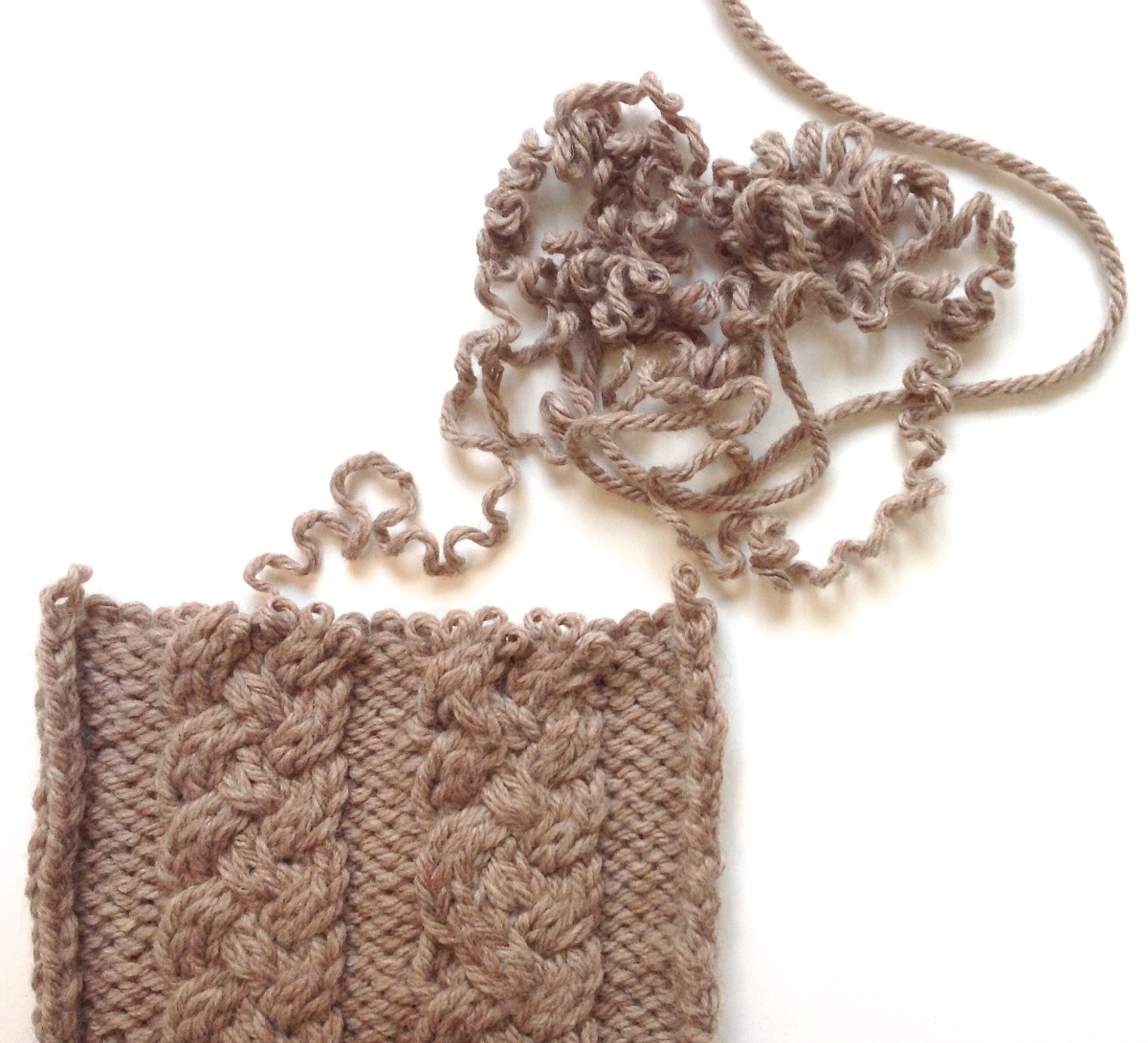 Knitting Unraveling Stitches : Emily Explains: What if I have to unravel my knitting again? Is this okay?