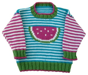 Watermelon Pullover by Gail Pfeifle