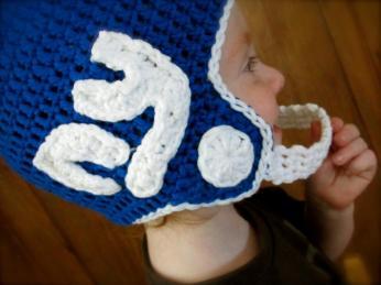 Football Helmet by Breanna Brummer