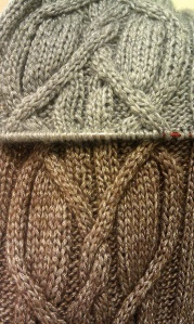 Merle - cable detail