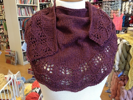 No. 269 Fuji Shawl by Darlene Joyce