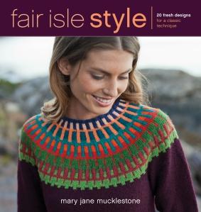 Fair Isle Style - jacket art
