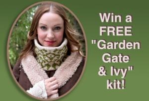 garden gate & ivy
