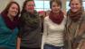 From Left to Right: Ashley, Martha, Caroline, Me!