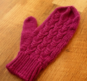 Mouette Mittens by Emily Ringelman