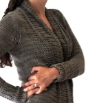 Long Sands Cardigan knit in Berroco Karma