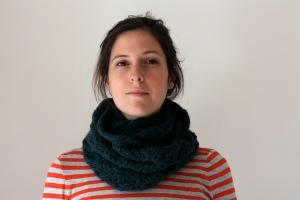 Cowl à la Russe knit in Berroco Voyage