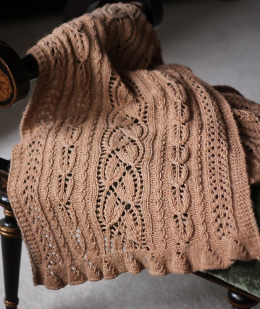 Effloresce Shawl by Amy Antler