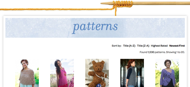 pattern search featured