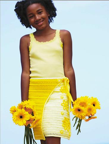 Sunny Day Skirt crocheted in Comfort DK