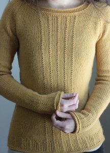Brassica Pullover by Elizabeth Smith
