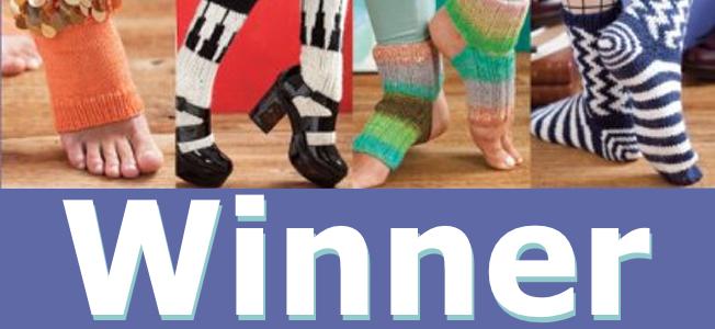 happy feet giveaway winner