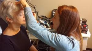 hair & make-up by Jennie Kay