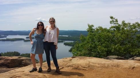 Emily & I took an impromptu hike up West Rattlesnake Mountain.