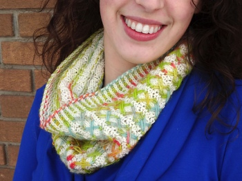 Colour Me Surprised Cowl by Emily Manasc
