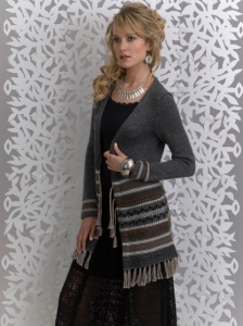 Boho Banded Jacket by Kathy Perry