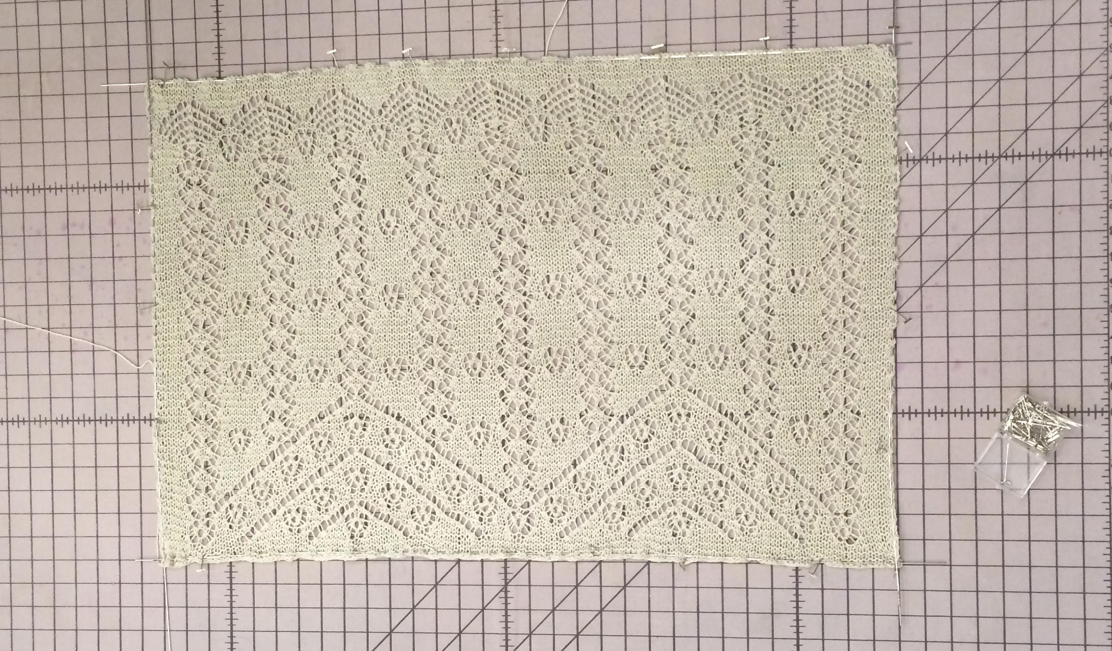 Emily Explains: Wet Blocking and Blocking Wires – Knitting and ...