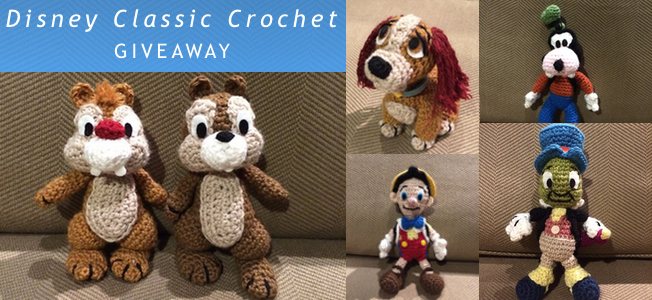 Disney Classic Crochet Giveaway Knitting And Crochet Techniques