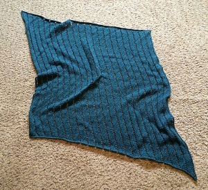 Deep Ocean Waves Baby Blanket by Mike Horwath