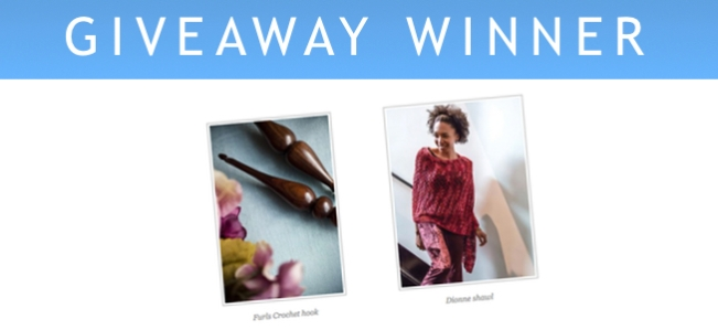 Giveaway winner FEATURE