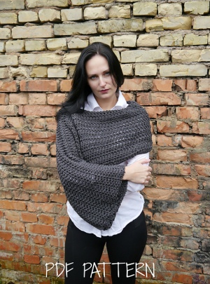 Asymmetrical Shrug by TheMailoDesign