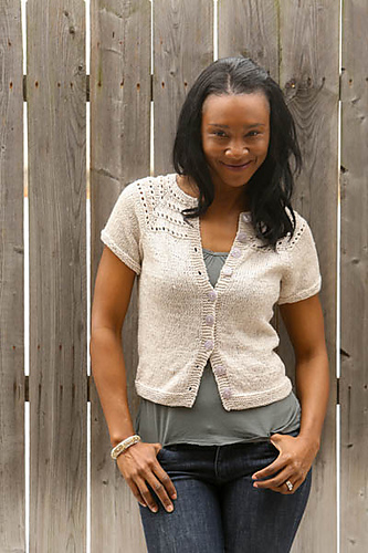 Sandy Shores Buttoned Top by Vera Sanon