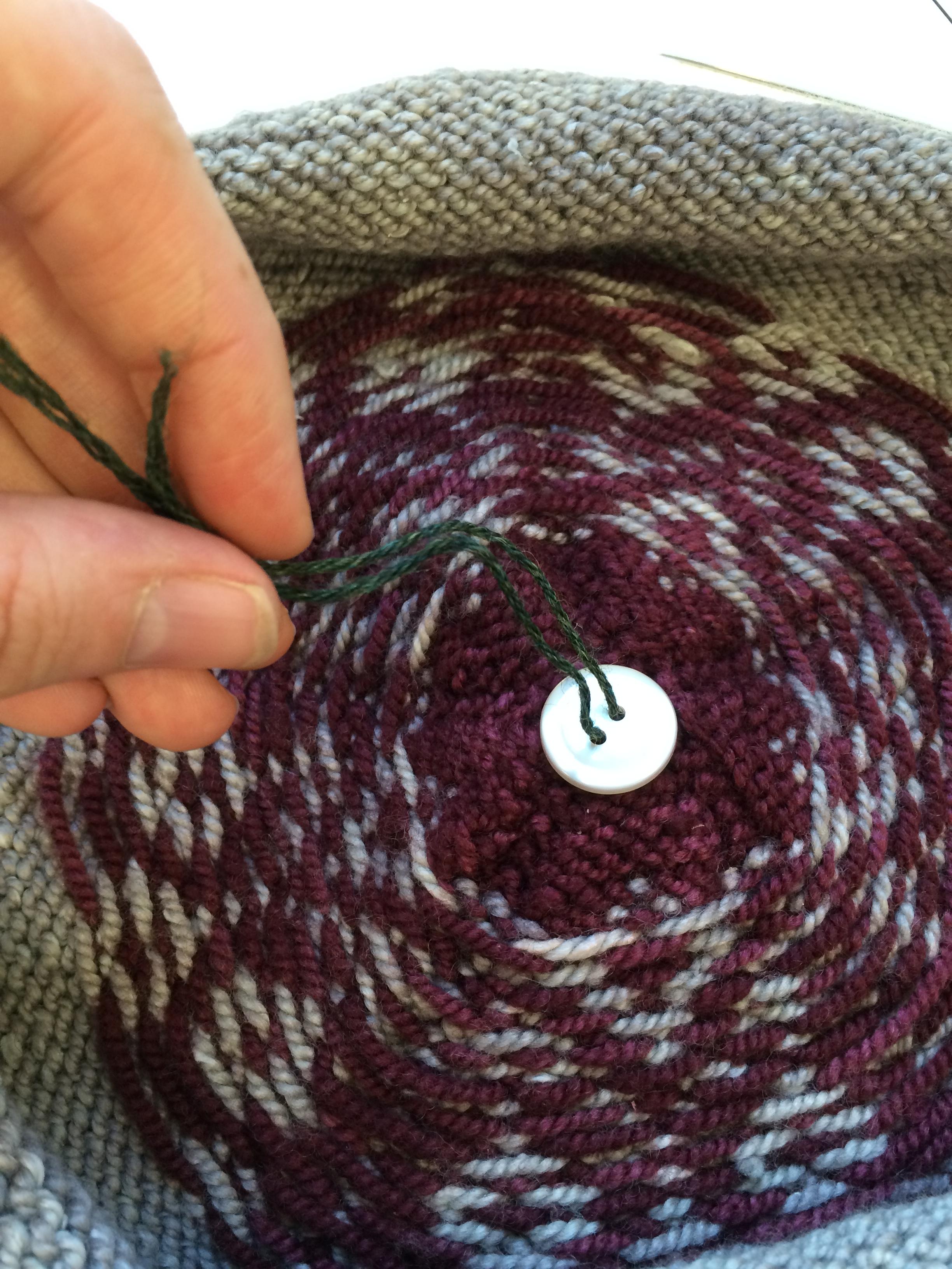 Emily Explains  How do I create a removable pom-pom  – Knitting and ... 682f98765cb