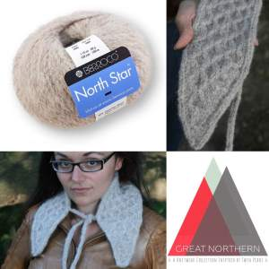 Sneak Peek: Great Northern design knit in Berroco North Star