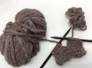 knit fabric separately