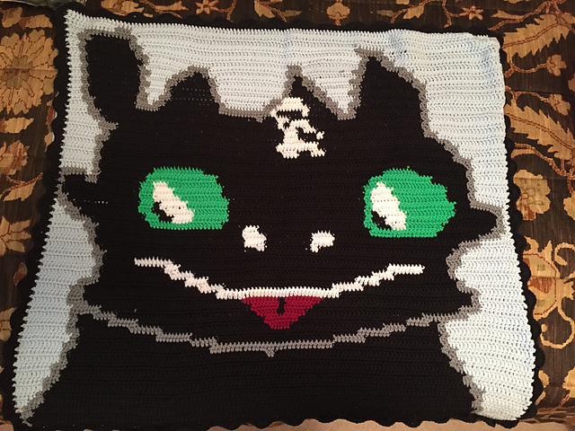 Toothless Dragon Graphgan Knitting And Crochet Techniques From The