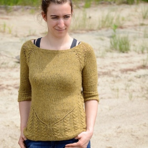 Grain of Sand Sweater by Gabrielle Vézina
